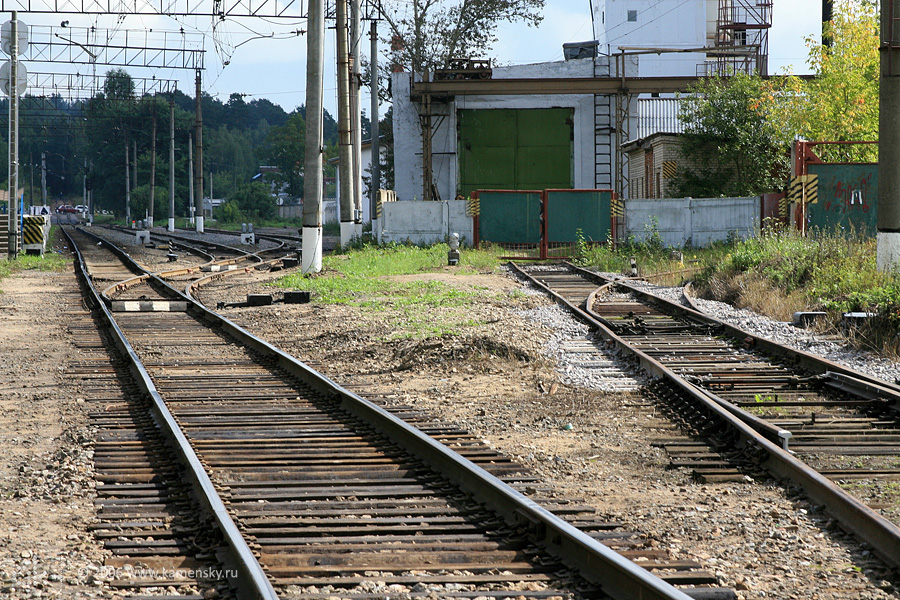 Железная дорога в Красноармейске