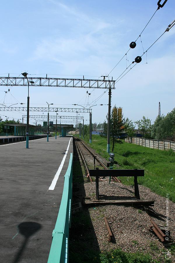 Станция Звенигород до реконструкции