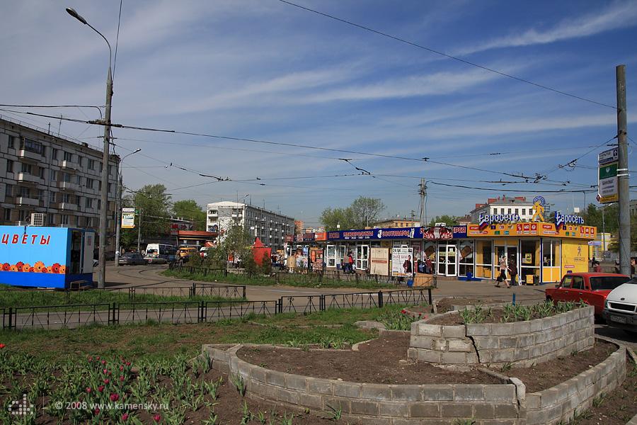 Площадь у метро Улица Подбельского