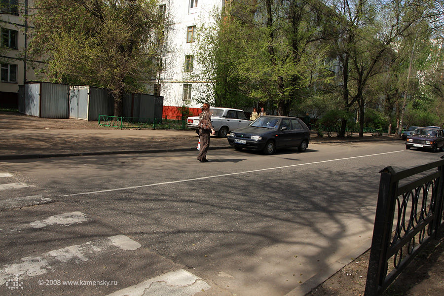 Таксующие частники на улицах Москвы