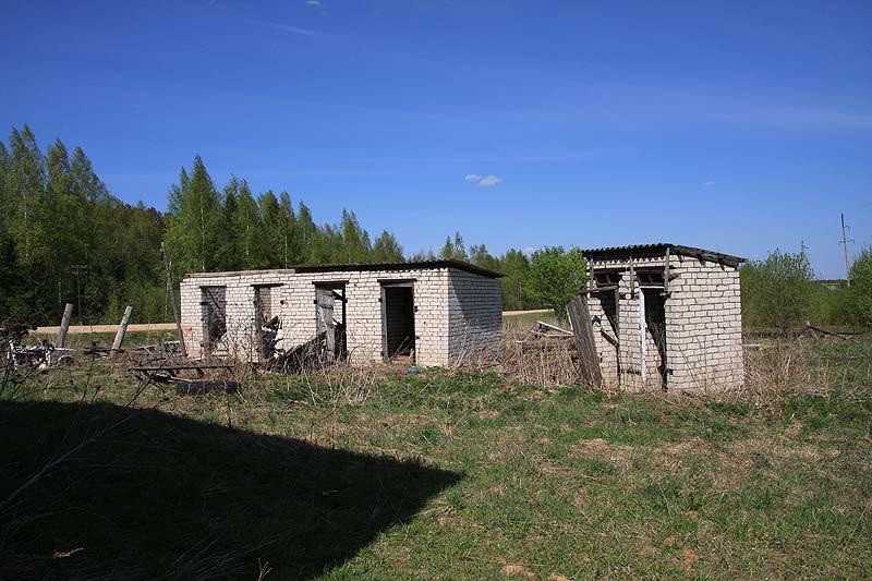 Заброшенный дом, удобства