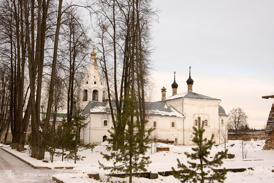 Свято-Лукианова пустынь Лукьянцево Владимирская область