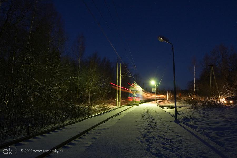 Дмитровская платформа 81 км, поезд прибыл