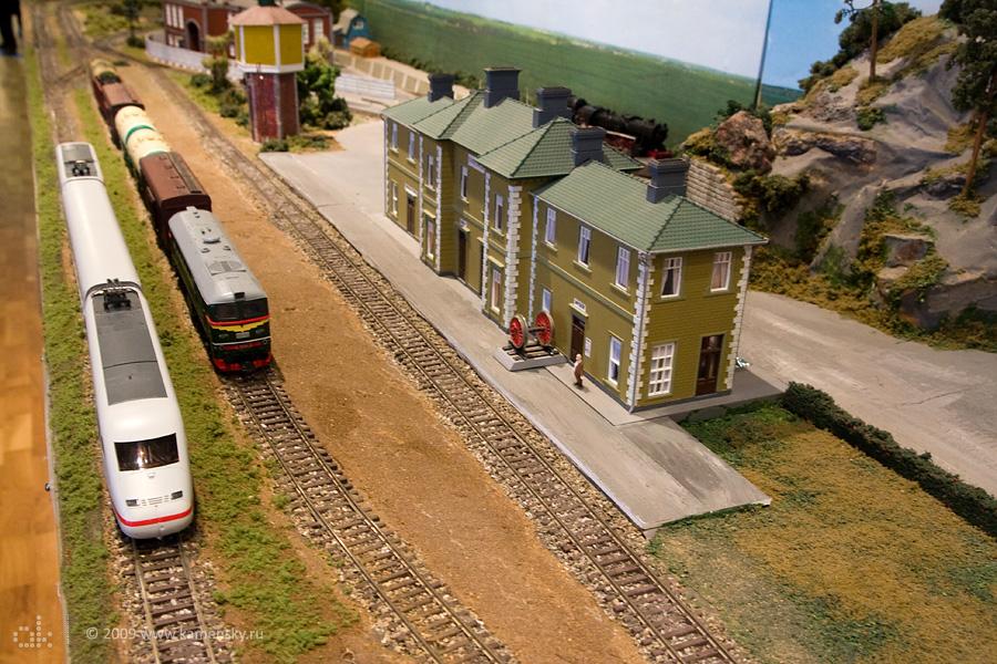 Форум железнодорожных моделистов 2009 в Раменском