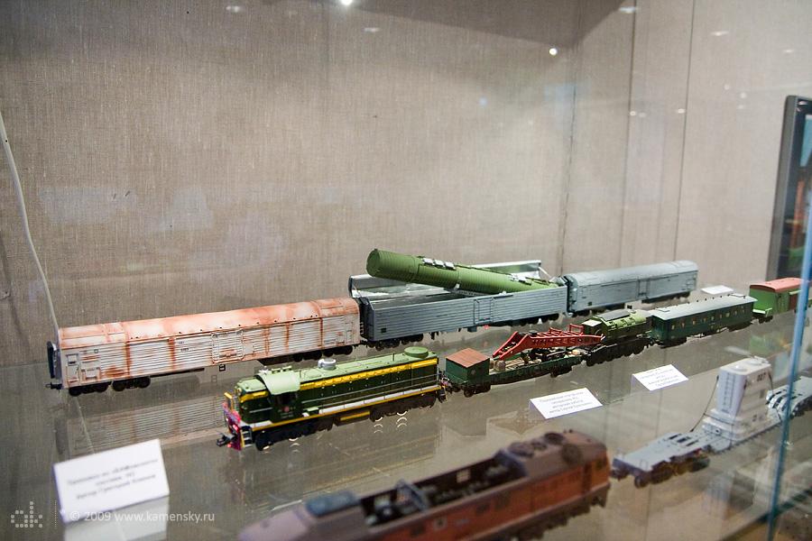 модель БЖРК Молодец РТ-23 (SS-24 Sсаlреl)