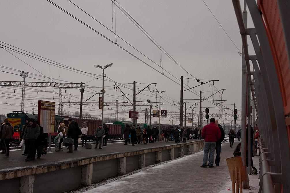 Станция Дмитров, платформа 2