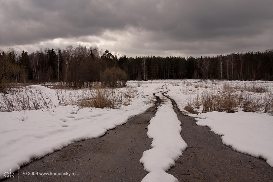 Московская область, Рошаль, весна