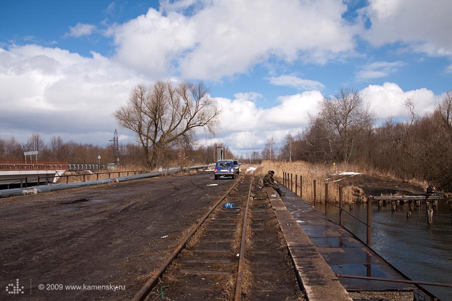 Закрытие Шатурских узкоколеек, мост в Шатуре