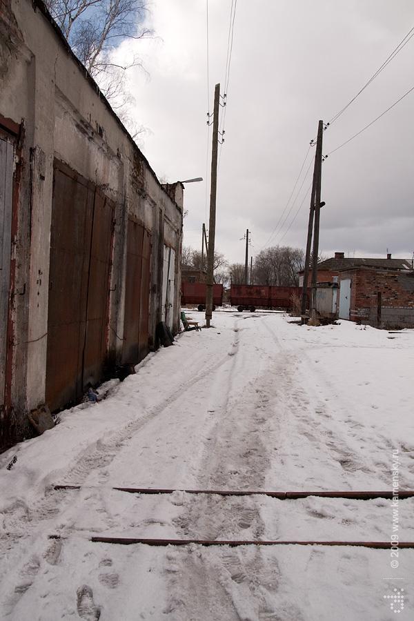 Закрытие Шатурских узкоколеек, депо в Керве