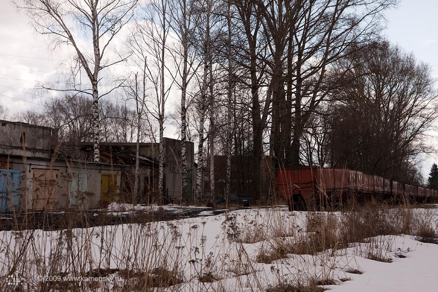 Закрытие Шатурских узкоколеек, депо в Шатуре