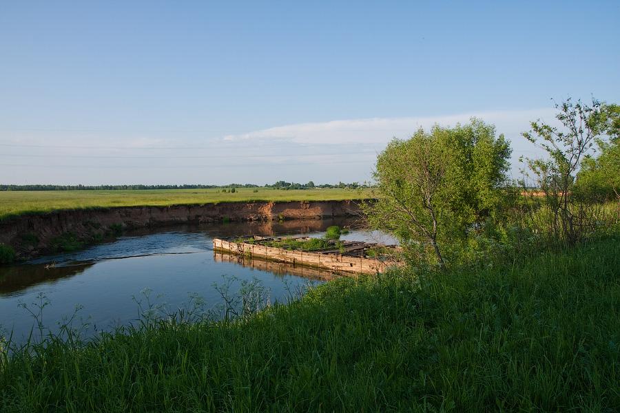 Гидроэлектростанция в Борисоглебске