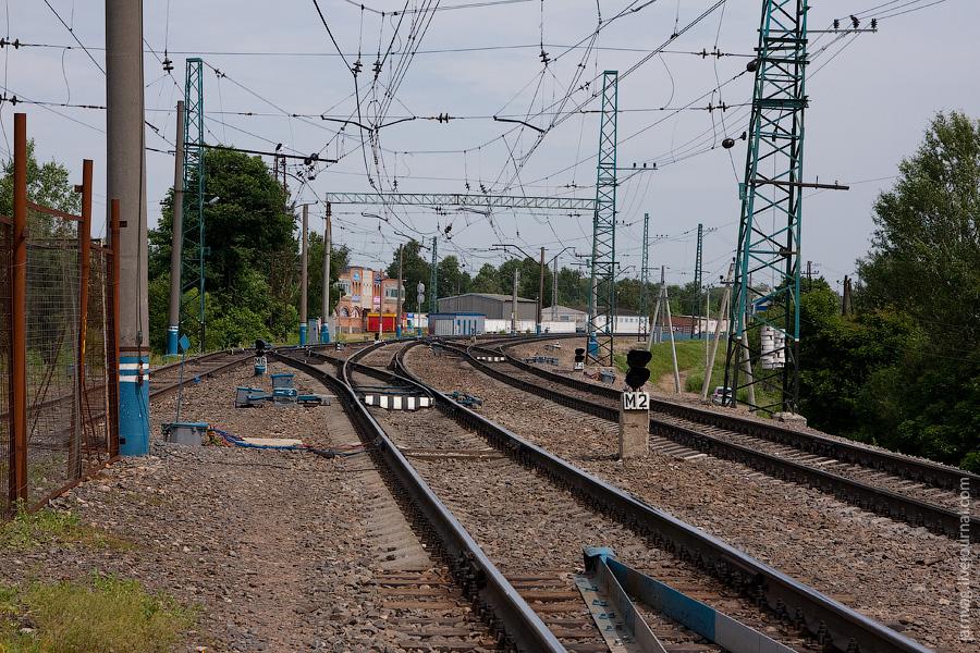 Железная дорога, станция Хотьково