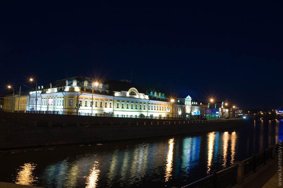 Вечерние фотографии Москвы. Кадашевская набережная