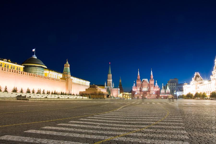 Вечерние фотографии Москвы. Красная площадь