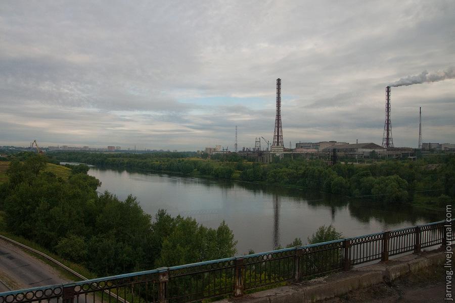 Москва река, Воскресенск, мост БМО