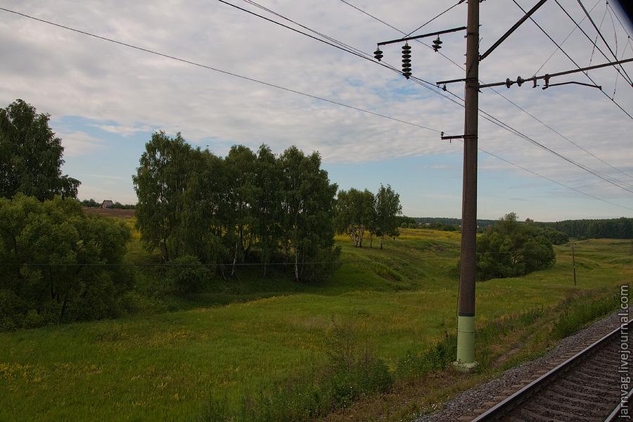 Природа Воскресенского района, железная дорога, БМО, Непецино