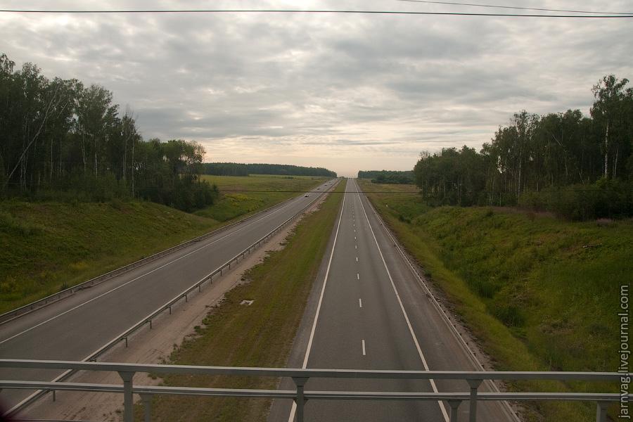 Мост БМО над автодорогой М5