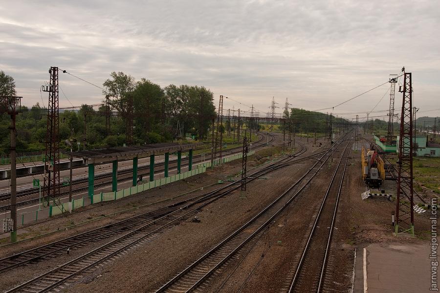 станция Воскресенск, Рязанский ход и БМО