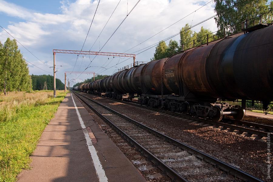 Илейкино, БМО, товарный поезд