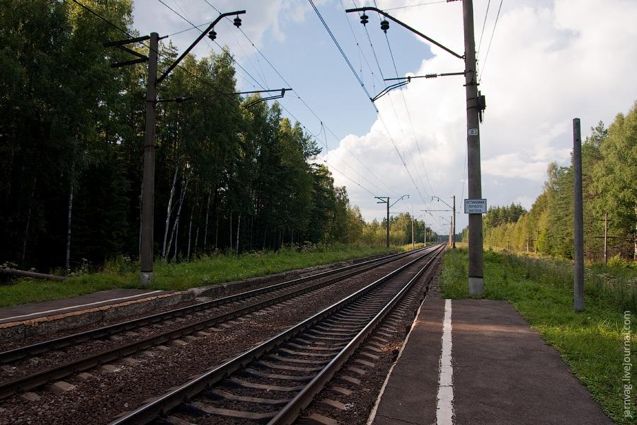 Участок Киржач - Орехово, перегон Илейкино - пл. 158 км