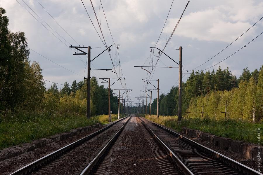 Участок Киржач - Орехово, перегон Илейкино - оп. 158 км