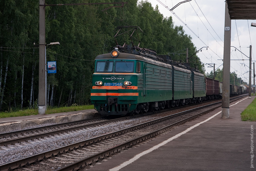 ВЛ11-754, оп 158 км, БМО