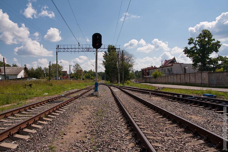 Станция Красноармейск нечетная горловина