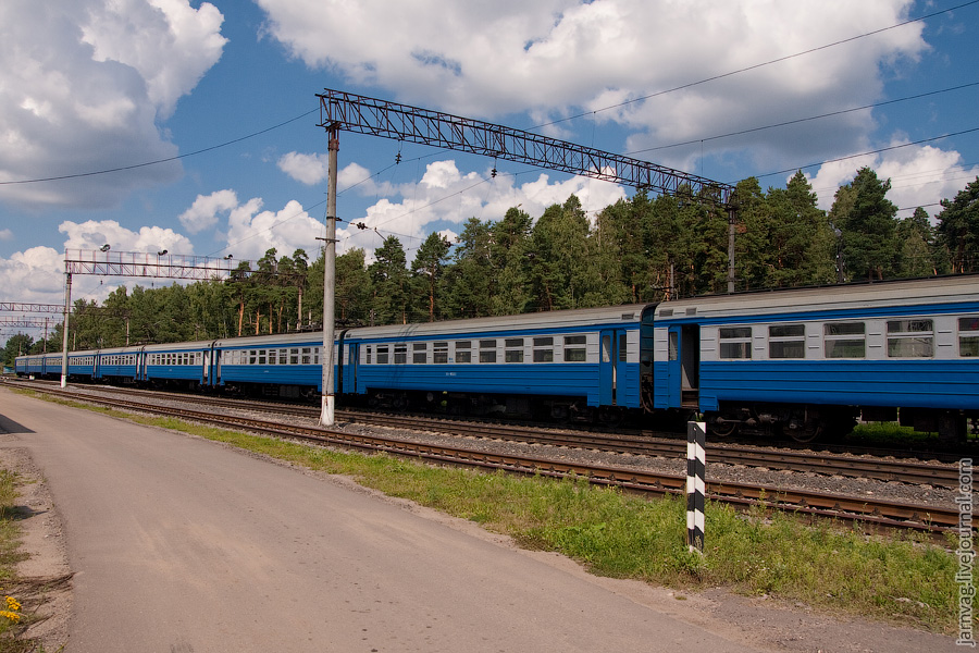 Станция Красноармейск ЭР2-1153