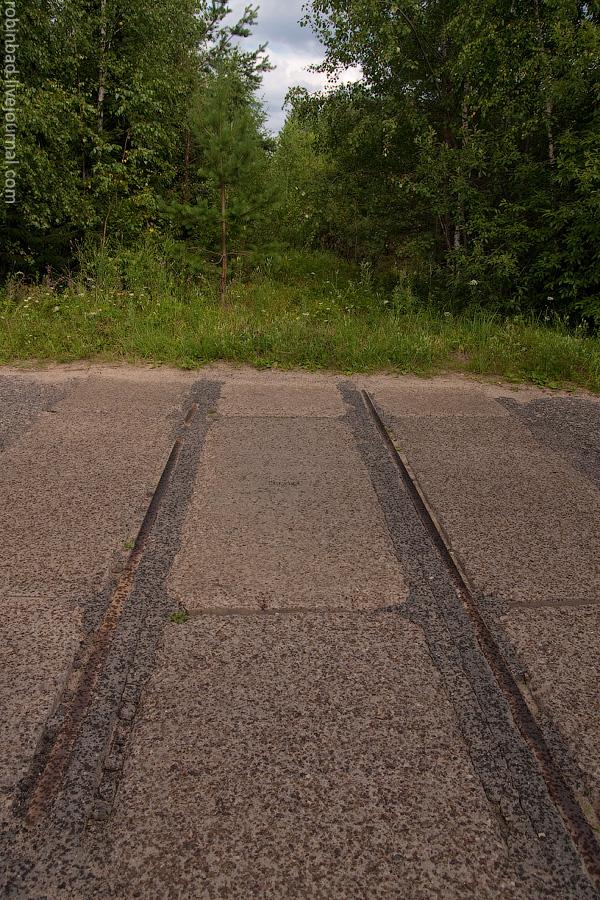 Московская область, УЖД, Софрино, Григорово, старый мост