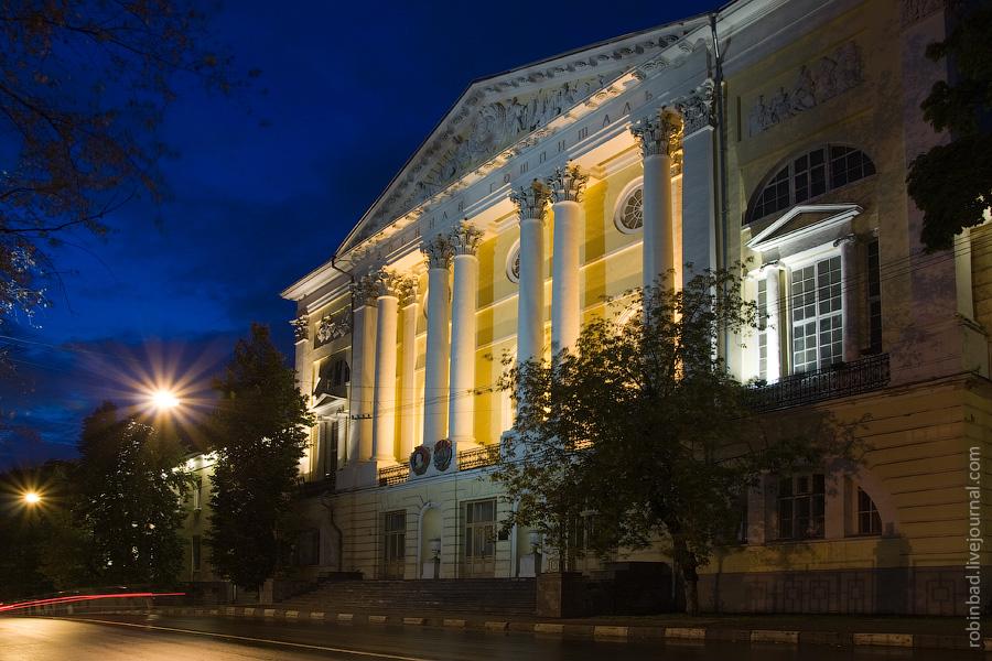 Ночное Лефортово, Главный военный госпиталь Н.Н. Бурденко