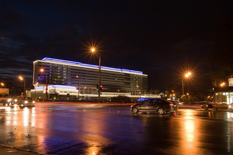 Ночное Лефортово, МГТУ имени Баумана