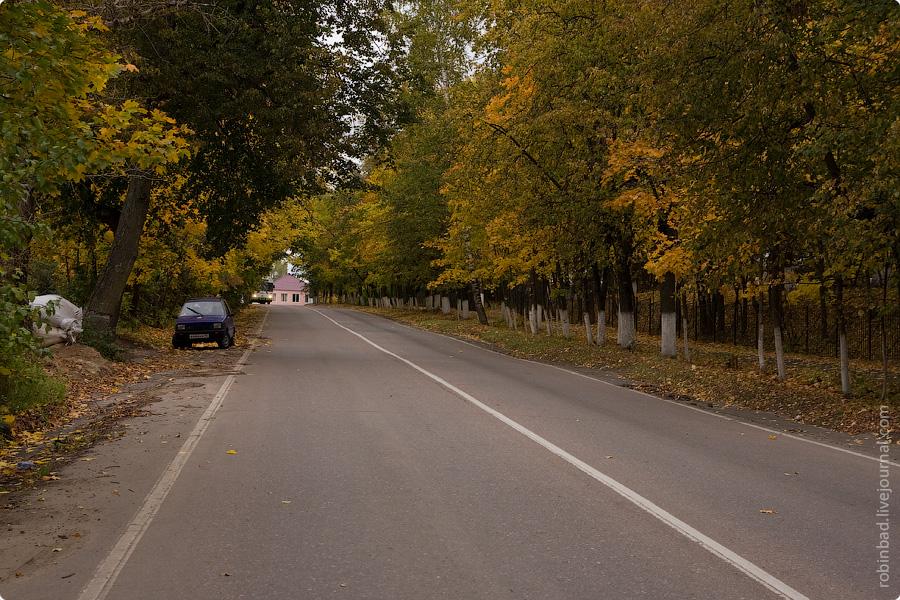 Пасмурный сентябрь, Московская область