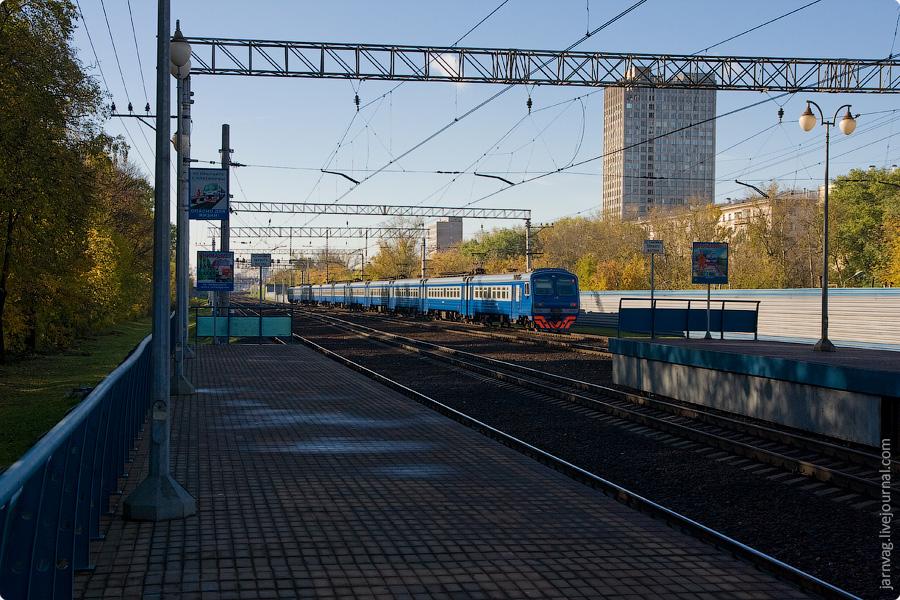 Москва. Пригородные платформы Ярославского направления.