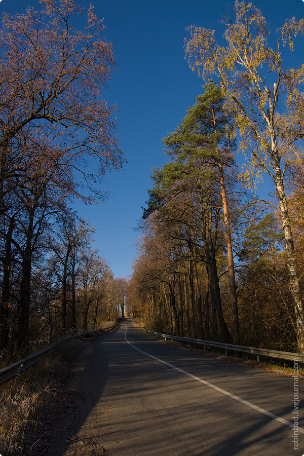 Первые заморозки октября, Московская область