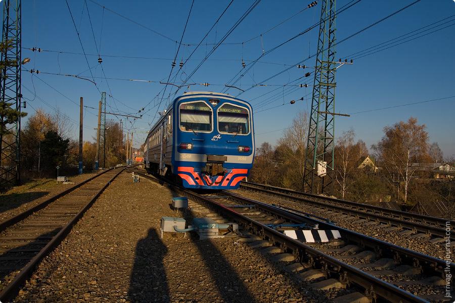 Железнодорожный мост Хотьково ЭД4М-0096