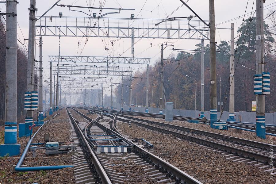 Окрестности станции Пушкино