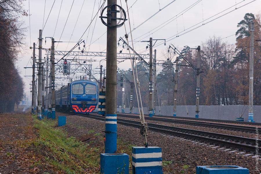 Окрестности станции Пушкино ЭД4М-0262