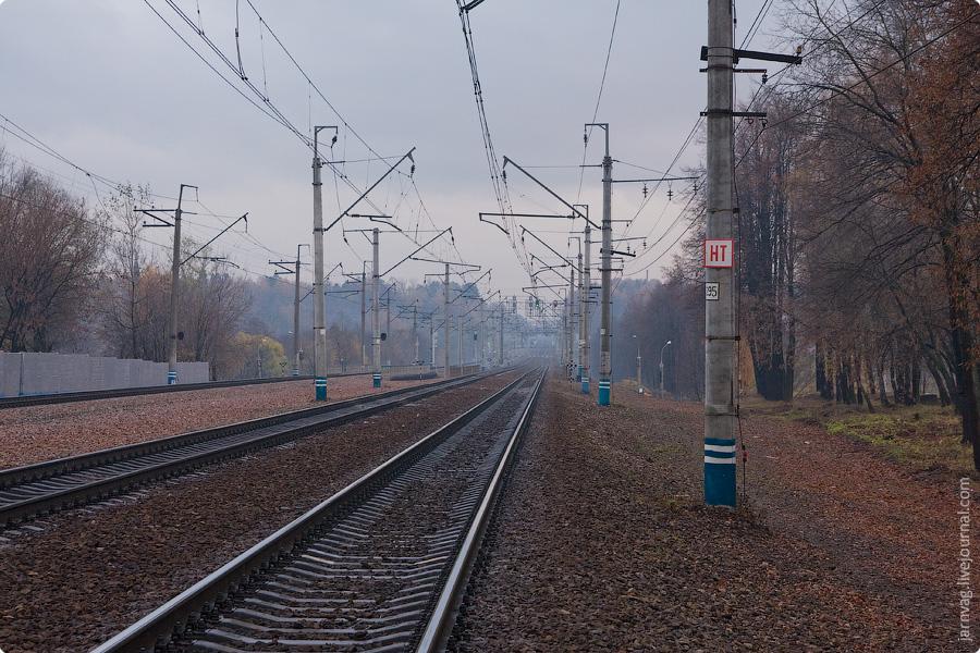 Окрестности станции Пушкино, платформа Мамонтовская