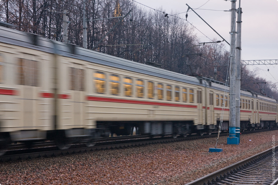 Окрестности станции Пушкино ЭД4М-0274