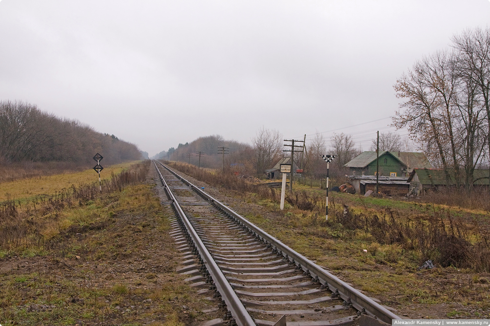 Северная железная дорога, Ивановская область, СЖД, о.п. Осановец