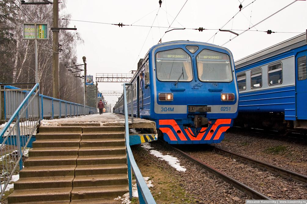 МЖД, Ярославское направление, Фрязинская ветка, станция Зеленый бор