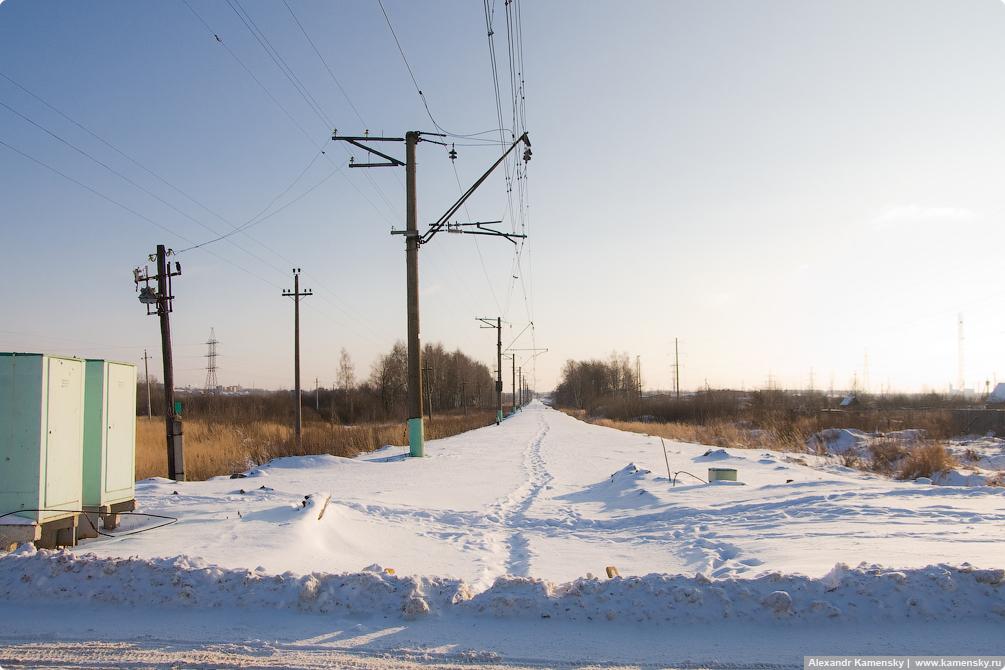 Реконструкция БМО, демонтаж рельс, участок Ильинский Погост - Егорьевск-2