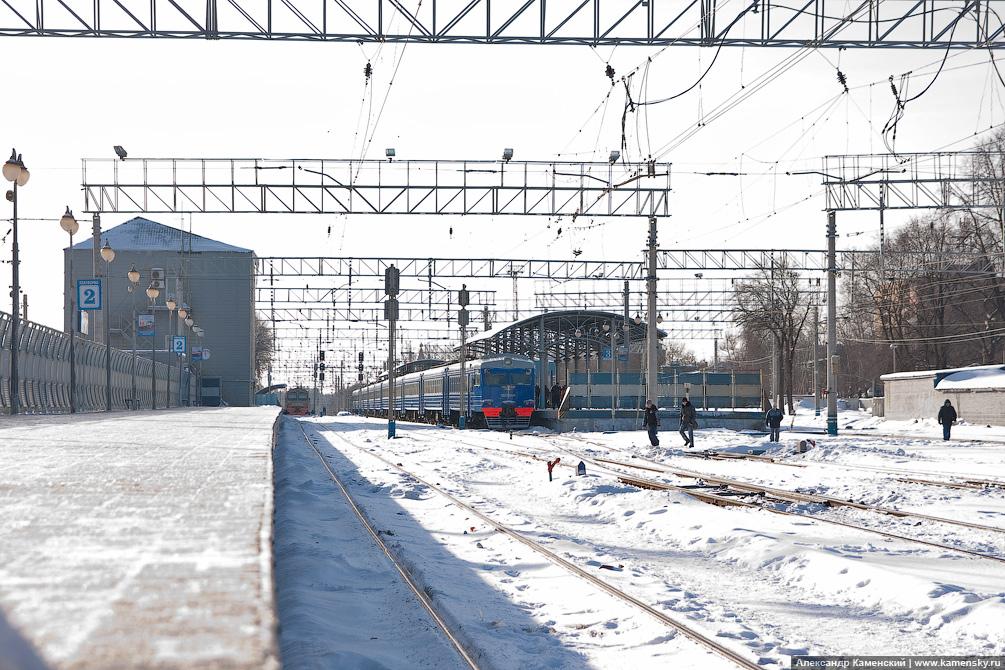 Ярославское направление, станция Пушкино, платформа Зеленоградская, платформа Радонеж