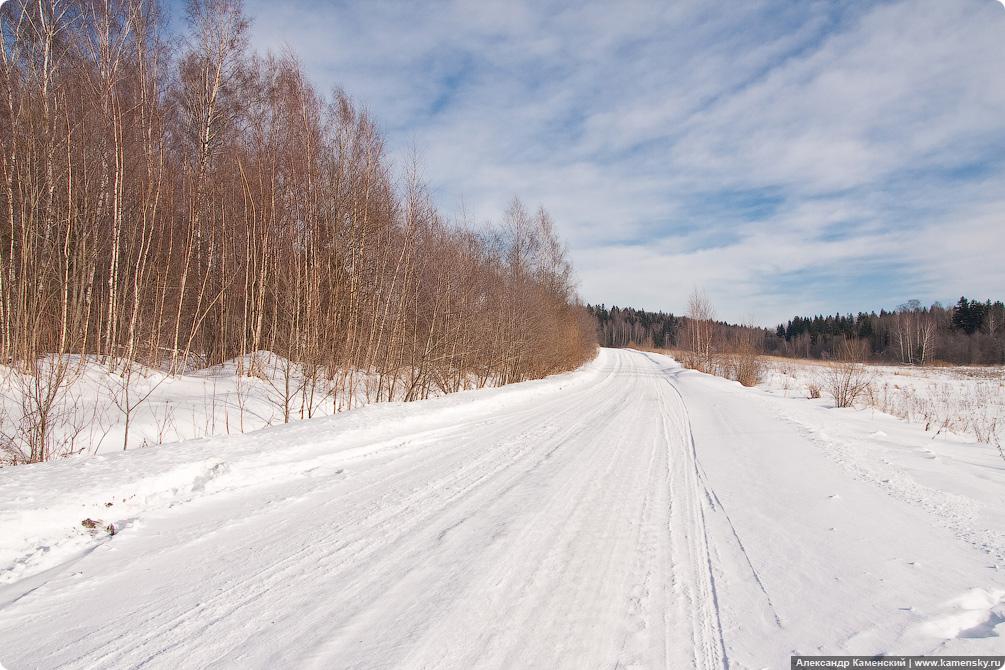 Владимирская область, пейзаж, природа, февраль
