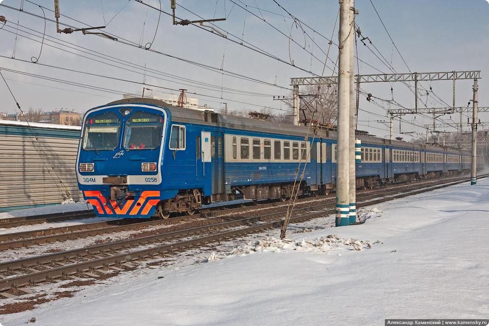 Участок Маленковская - Яуза, ЭД4М-0258, Ярославское направление