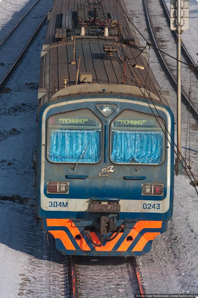 Электропоезд ЭД4М-0243, Ярославское направление