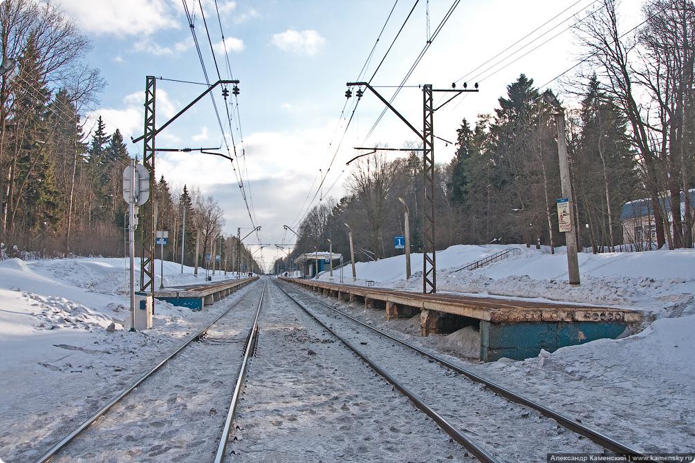 Платформа Радонеж, Ярославское направление