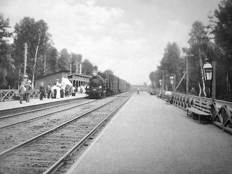 Платформа Тайнинская, Ярославское направление, страницы истории