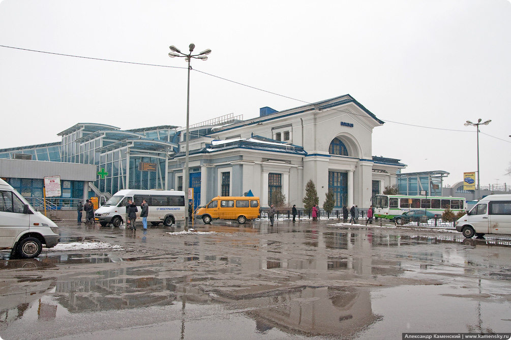 Станция Мытищи, исторические фотографии