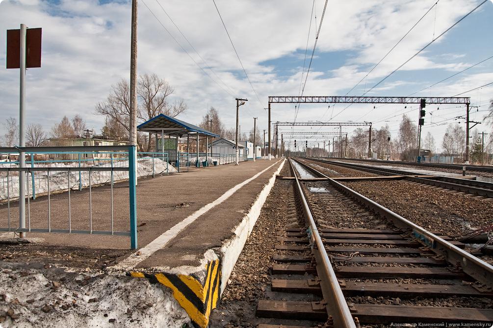 Большая Московская Окружная, от Александрова-2 до Киржача